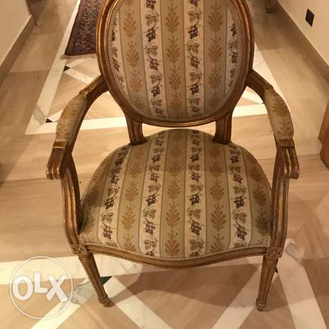 single French classic chair