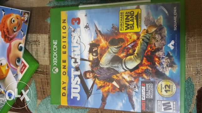 Just cauae 3 for xbox one for sale or trade