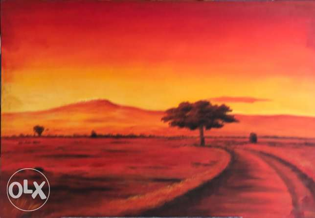 Nice Oil Painting For Sale.