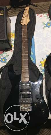Yamaha electric guitar and one amp for sale