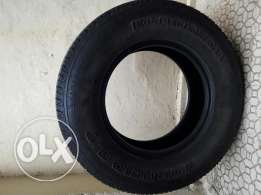 Tyres 265/70/R17 used 9 Month