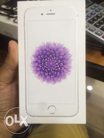 iPhone 6 new with one year warranty فردان -  2