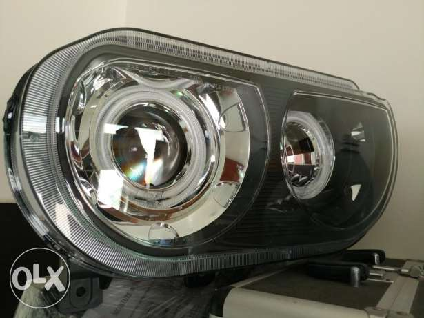 Challenger Head Lights with rings