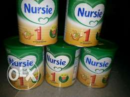 5 boxes of Nursie 1 baby milk from 0 to 6 months