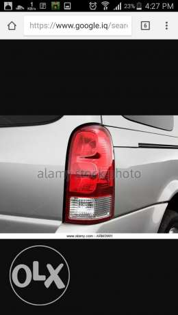 Wanted tail light (right) up lander 2006
