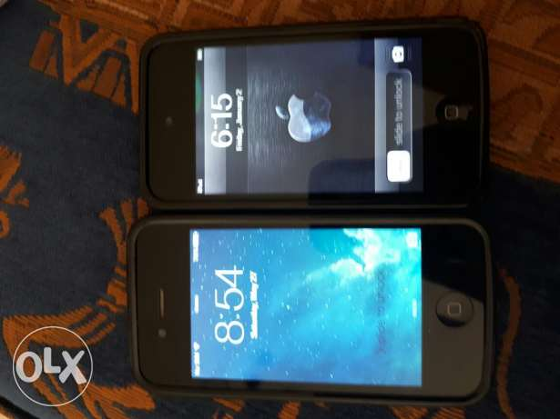 Iphone 4 and ipod 4