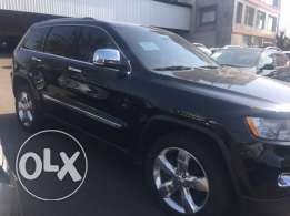 Jeep Grand Cherokee 2011 black/basket/interior