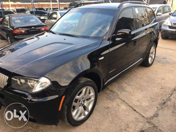 2009 BMW X3 M package clean carfax