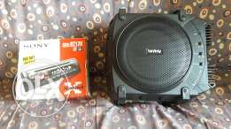 Sony disc player and infinity pioneer for sale both for 175.000l.l