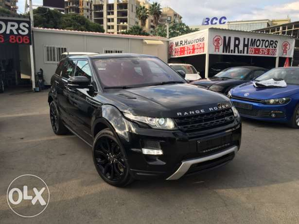 Stunning! Range Rover Evoque Dynamic Plus Black Edition Like New! بوشرية -  6