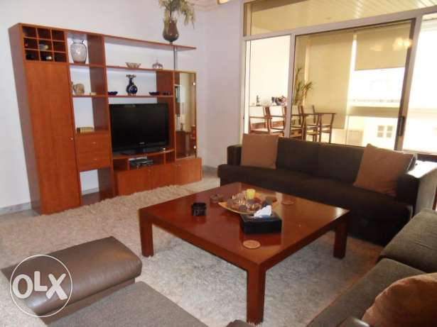 Furnished 3BD apartment in Clemenceau-Hamra