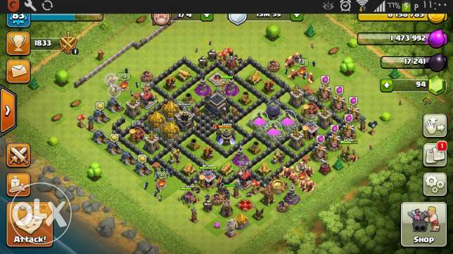 Clash of clans for sale 50 alf