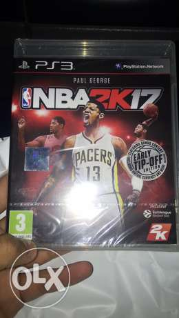 nba2k17 for ps3 like new