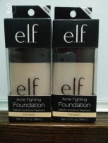 Elf Brand Acne Fighting Foundation-New/Unopened