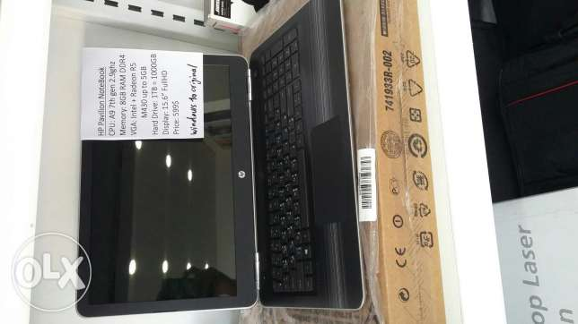 HP notebook AMD A9