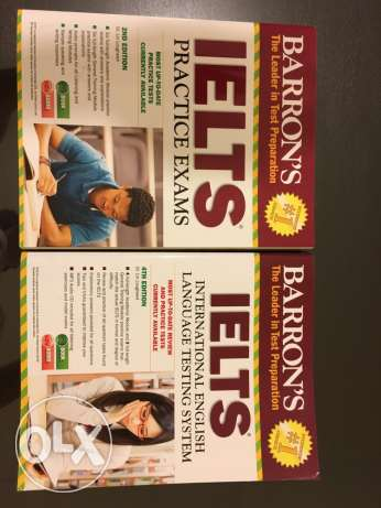 IELTS official book+practice exams book (latest editions)