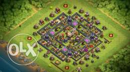 clash of clans TH lvl11 almost maximized lvl 136