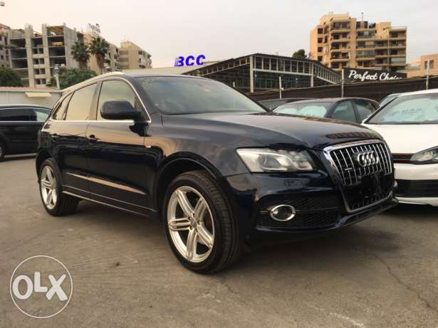 Audi Q5 S Line 2009 Blue Black Top of the Line in Excellent Condition! بوشرية -  7