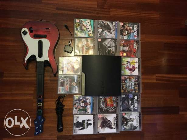 PS3 with 16 games made in USA