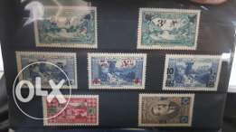 Old lebanese stamps