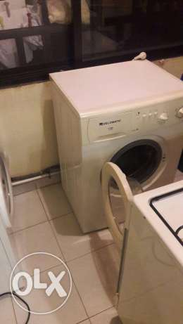 laundry washer velomatic