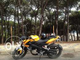 Bajaj Pulsar 200NS 2013 Yellow/Black