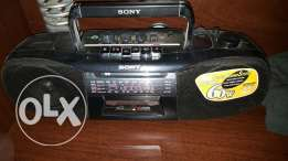 Clean sony radio