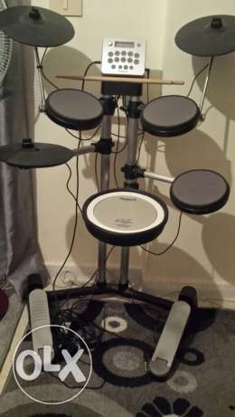 Roland HD-3 electronic drums.