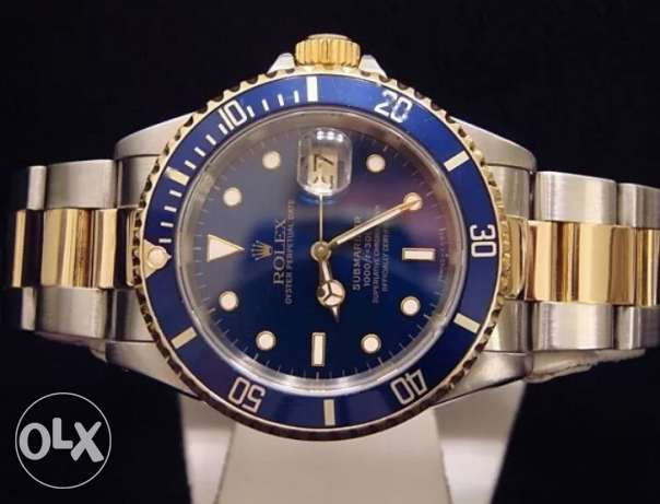 Authentic Rolex Submariner Date 18k Watch Yellow Gold