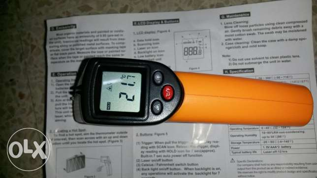 Laser thermometer new