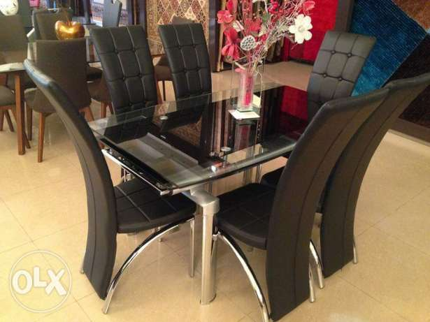 Very Special Dining Table and 6 chairs