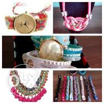 Fashion jewelry & watches-package of about 320 pcs