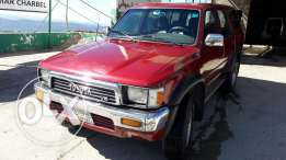 4 runner practical and strong suv aggressive very clean