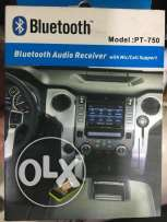 Bluetooth Music Audio Receiver Car Kit Adapter PT-750