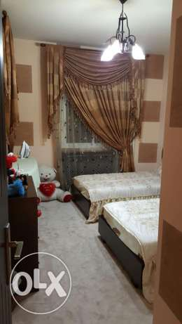 Beds, night stand and dresser for sale in perfect condition منصورية -  1