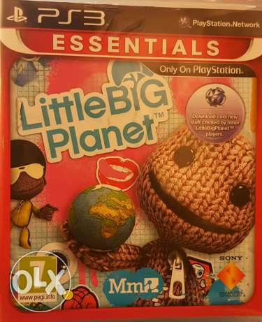 Little big planet PS3 GAME مكلس -  1
