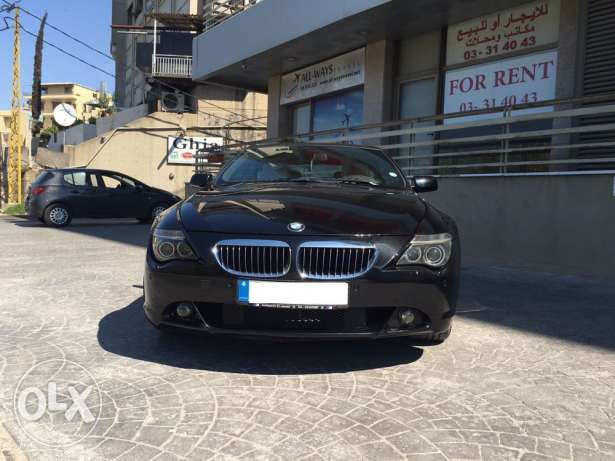 BMW 630ci convertible