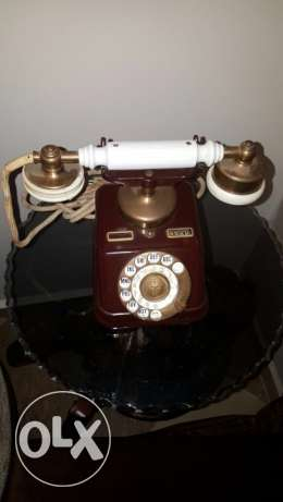 collectible telephone from 1897