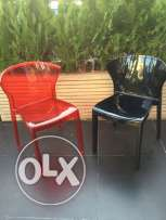 Italian translucent chairs made in year 2016