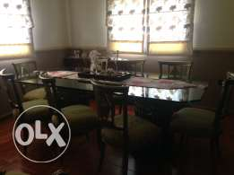 Dining room in an excellent  condition. Barely used ras el jabal