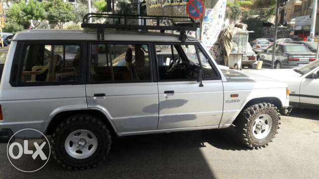 Pajero model 1989 automatic 4x4 .ac البحصاص -  2