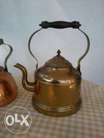 Old big Teapot, heavy copper, 50-60 years, 25$
