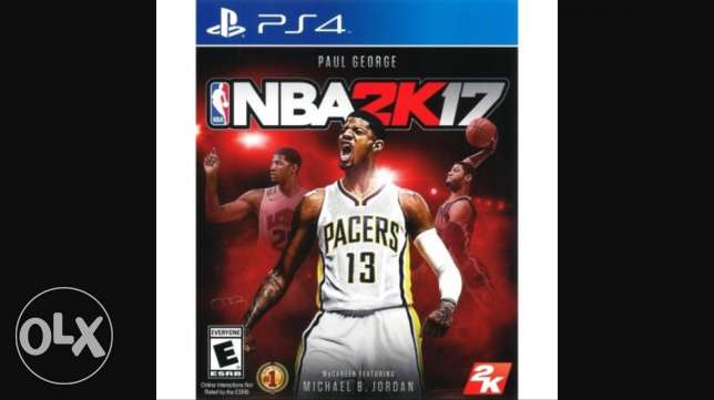 NBA 2K17 on ps4: used once .. brand new عمارة  شلهوب -  1