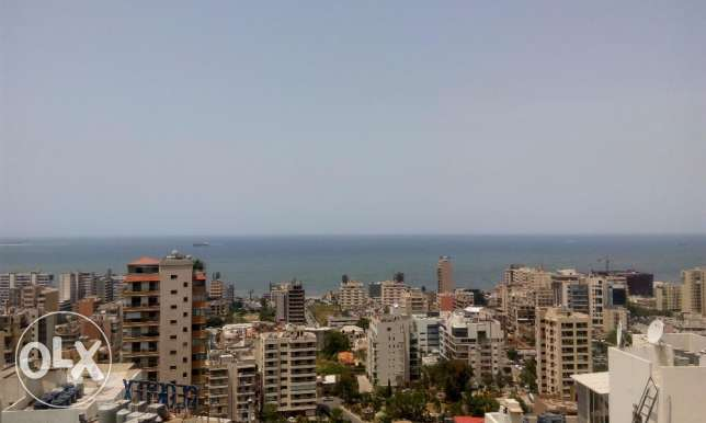 2 Bedrooms Apartment in Jal El Dib with panoramic sea view.