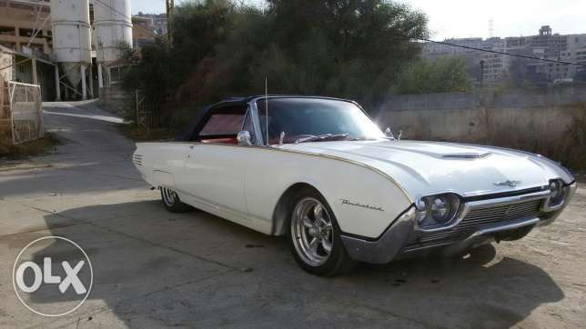 Ford Thunderbird convertible 1961 for sale