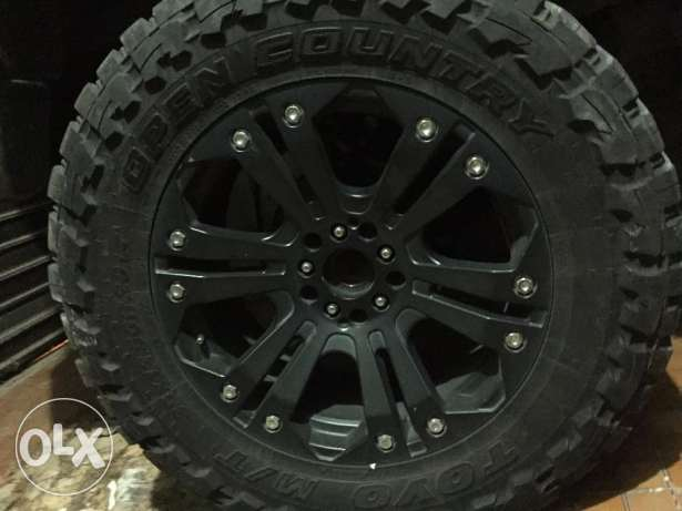 35inch Toyo Tires + XD Series 20inch Rims for Wrangler المتن -  4