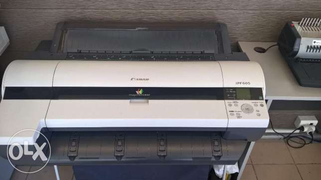 Canon plotter imagePROGRAF iPF605 A1 Wide Format Printer