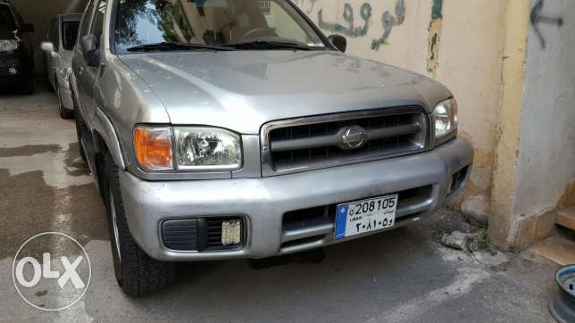 Nissa pathfinder 2002 2 WHEEL سوديكو -  1