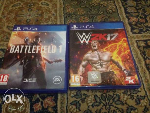 wwe17 and battlefield