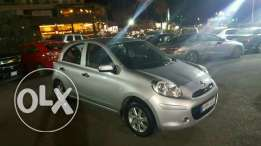 Micra 2013 full options source company under warranty like new